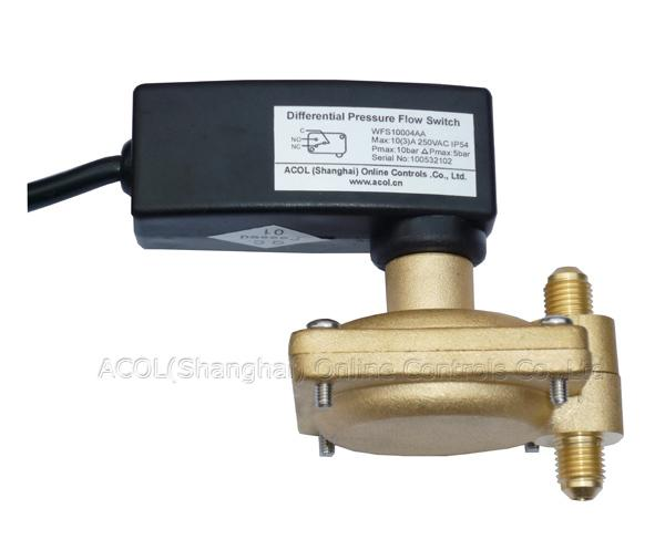 Wfs series differential pressure switch with fixed set point